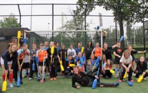 Stichting STAR heeft een hockeyclinic georganiseerd voor het G-hockeyteam van GHHC Groningen